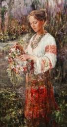 Русские красавицы в живописи Анны Виноградовой. Картина 3