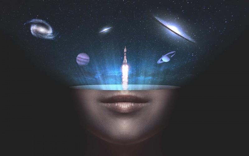Вселенная создается вниманием человека, наблюдателя  Universe-1622107-1920