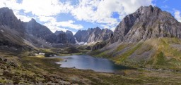 Озеро Угловое  Хребет Кодар