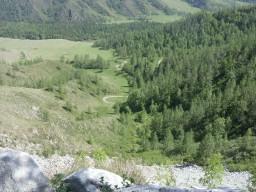 Тёщин язык  на перевале Чике-Таман