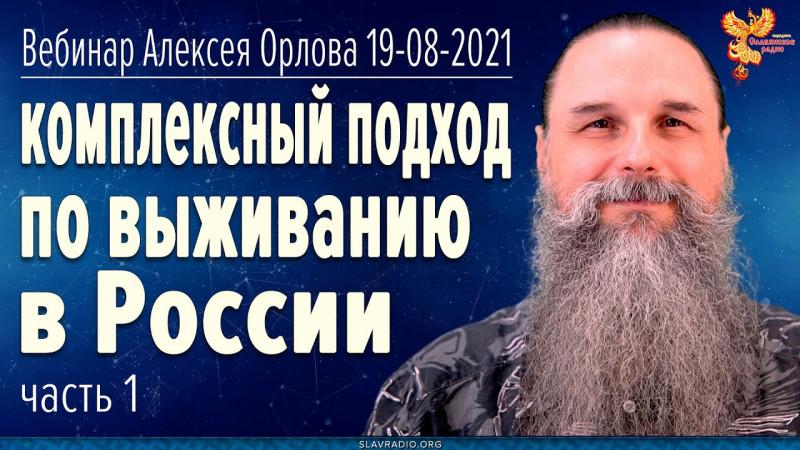Комплексный подход по выживанию в России. Вебинар Алексея Орлова. 19 августа 2021. Полная запись