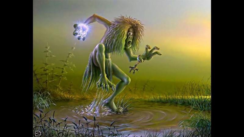 Лихо Мифические существа