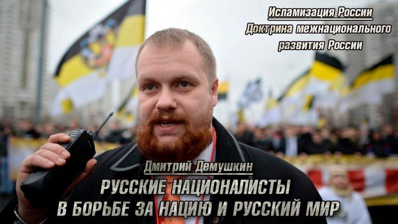 Русские националисты в борьбе за нацию и Русский Мир   Доктрина межнационального развития России