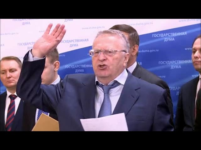 «России — русскую власть!» Владимир ЖИРИНОВСКИЙ защищает Дмитрия ДЁМУШКИНА (2017)