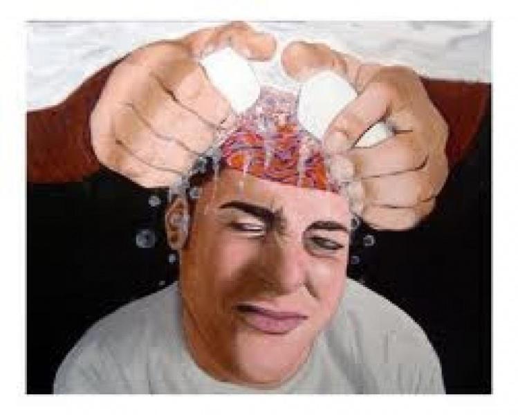 Массовая промывка мозгов. Как это происходит ?