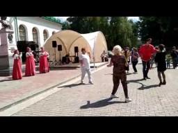 Ансамбль русской песни Яблонька - на выставке Иван да Марья в Екатеринбурге