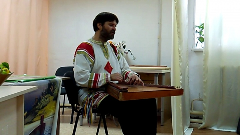Сказание о Китеж Граде - гусляр Владимир Владимиров в Нижнем Тагиле