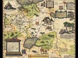 Удивительная карта России, Московии и Тартарии.