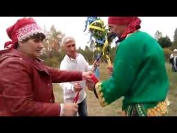 Ладование стихиями на празднике Осенины в Родовом поселении Радосвет