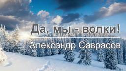 "Александр Саврасов ""Да, мы - волки!"""