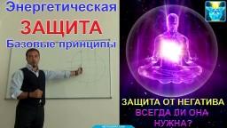 Энергетическая защита.  Защита от негатива.  Базовые принципы личной безопасности