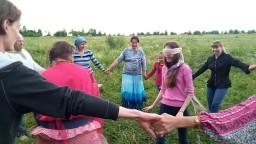 День Земли 2017 в селении Жива - играем в подвижные игры Анюта, я тута