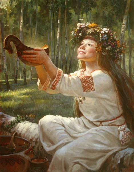 Художник Шишкин - русский портрет и славянские боги