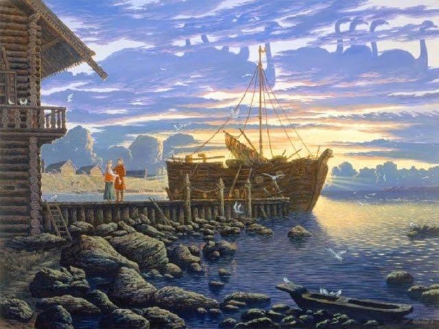 Об аркторуси, рунице, древней ведической цивилизации. Валерий Чудинов