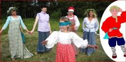Игра Ивашка на празднике Купала в Родовом поселении Жива
