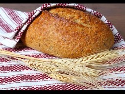 Домашний хлеб без дрожжей. Мастер-класс.