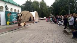 Этно проект Зов предков на ярмарке Иван да Марья в Екатеринбурге