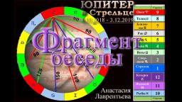 Влияние Юпитера в Стрельце на Знаки Зодиака: Фрагмент Беседы. Анастасия Лаврентьева