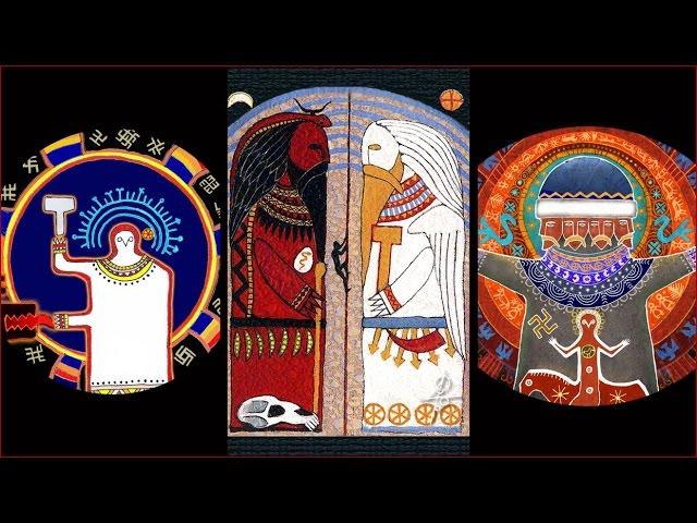Славянские божества художника Максима Сухарева