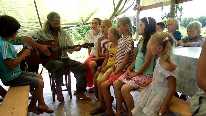 ПОЗИТИВ!!! Исполнение песни Емелина детьми!