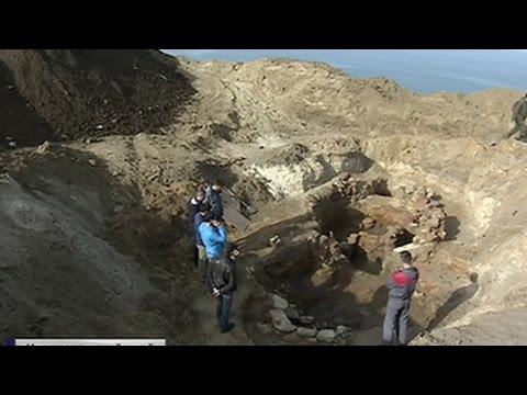 Под энергомостом в Крым нашли объект древней цивилизации