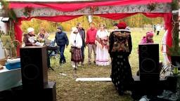 Вьюн над водой на венчании Алексея и Аллы в Родовом поселении Добрыня