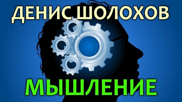 Денис Шолохов. Мышление