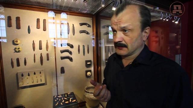 Алексей Кунгуров в историческом музее