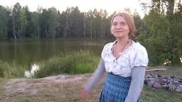 Селение Родовых поместий Кедры Синегорья -часть 2 - Озеро Светлых Мыслей