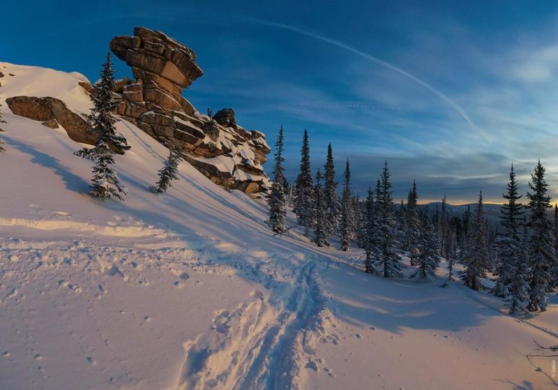 Горная Шория. Зима. Валерий Васин. Фото 3