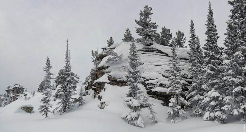 Горная Шория. Зима. Валерий Васин. Фото 4