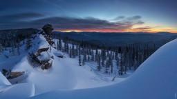Горная Шория. Зима. Валерий Васин. Фото 2