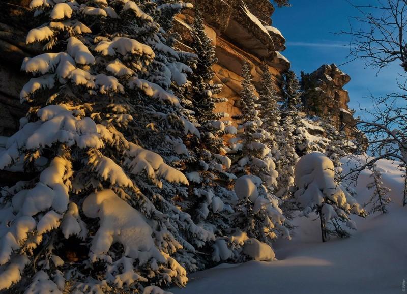 Горная Шория. Зима. Валерий Васин. Фото 1