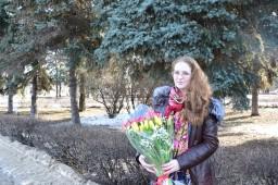 Дарите девушке цветы и она будет счастлива