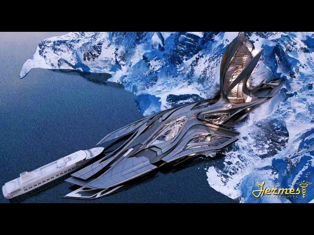 Антарктида - врата в ледяную вселенную! Кто живет внутри Земли?