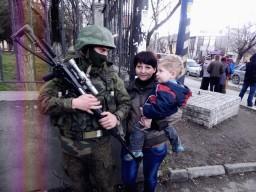 Бойцы армии России самые душевные и сильные духом в Мире : Крым памятные События 2014