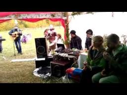 Песня про баньку на венчании Алексея и Аллы в Родовом поселении Добрыня