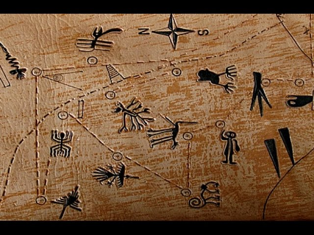 Непостижимые тайны плато Наска.Загадки мироздания.Земля.Территория загадок