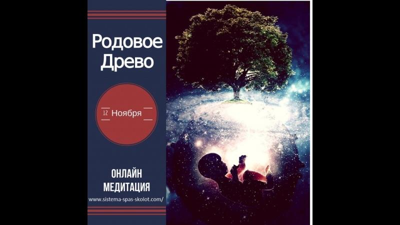 """Медитация """"Родовое древо""""."""