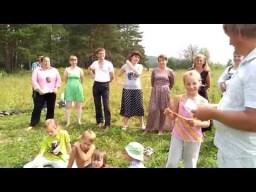 Сказка про репку на празднике Земли в Родовом поселении Жива