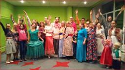 Уральская сказочная вечерка - хороводный флэшмоб в Екатеринбурге